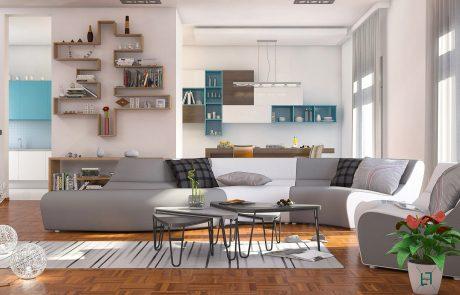 render interni design